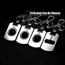 3D Car Keychain Keyring Logo metal Swivel Key Keyfob Part Holder Car Emblem