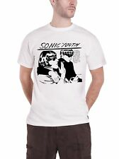 Sonic Youth T Shirt Goo Band Logo Official Mens New White
