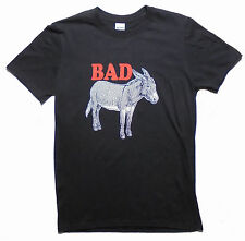 Bad Ass Donkey Funny Humor Mens Graphic T Shirt