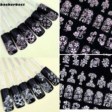 108PCS High Quality 3D Nail Art Stickers Decals Decoration Tool Hot stamping