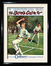 Vintage Tennis Posters and framed pictures