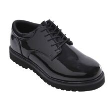 High Gloss Military Uniform SOFT SOLE Dress Shoes Army USMC Prom Wedding Tuxedo