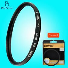 ZOMEI Star Light Flare Cross Filter 4 + 6 + 8 Point Effects Filters 52 mm