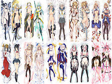 New Cosplay Anime Sexy naked nude girl Pillow Cover Case 150cm bolster gift D3