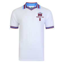 Official Retro West Ham United 1980 FA Cup Final Retro Shirt 100% COTTON