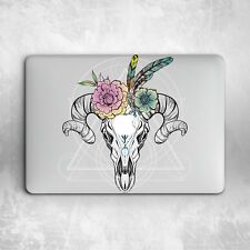 Floral Skull Geometry Design Hard Cover Case Macbook Pro Retina Air 11 12 13 15