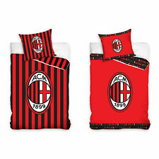 AC MILAN FC Football Bed Cover AC Milan Football Club Milano Bed Linen