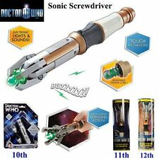 Doctor Who 12th 11th 10th Sonic Screwdriver LED Peter Capaldi Light&Sound Props