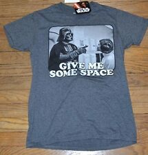 Star Wars Darth Vader Give Me Some Space Officially Licensed Graphic Tee DISNEY