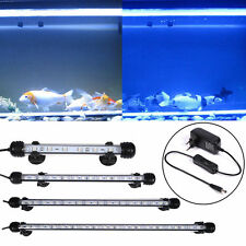 Sale~Aquarium Fish Tank LED Light Submersible Waterproof Bar Clip Strip Lamp New