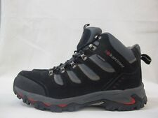 Mens Karrimor Mount Mid Walking Hiking Black Lace Up Weathertite Leather Boots