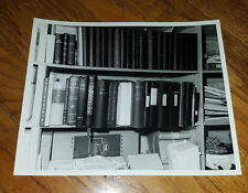 Evelyn Lincoln's Personally Owned Unpublished Photo of JFK's Books