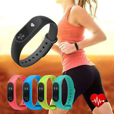 Smart Watch Mi 2 Wristband Strap Sleeping Heart Rate Monitor Counter Touch