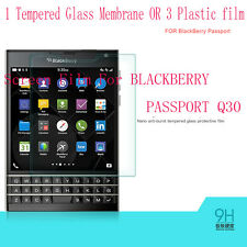 PVC Tempered Glass Membrane Screen Protector Film F BLACKBERRY PASSPORT Q30 Q-30