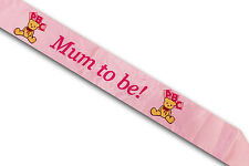 Baby Shower Activity Games Photo Booth Sash Straws Fun Party Game Dummy