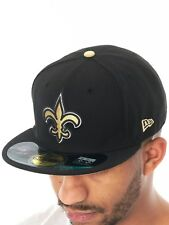 New Era Team NFL On Field New Orleans Saints Fitted Cap