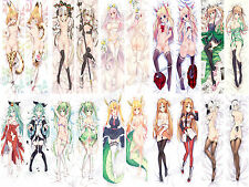 New Cosplay Anime Sexy naked girl Pillow soft iron Cover Case 150cm sexy C10