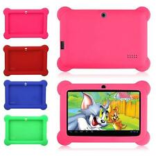 """New Silicone Soft Gel Case Cover For 7"""" Android A23 Q88 Tablet PC Kids Gifts KJ"""