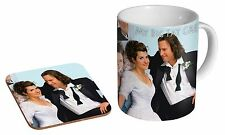 My Big Fat Greek Wedding Ceramic Tea - Coffee Mug Coaster Gift Set