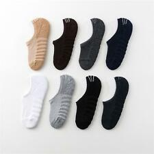 5 Pairs Mens Cotton Ankle Invisible Nonslip Solid Soft No Show Socks Lot Low Cut