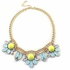 Women Party Wear Fashion Colorful Stone Beads Decorated Stylish Necklace