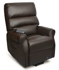 Mayfair Luxury Electric Recliner Lift Chair Premium Leather *Brand New*