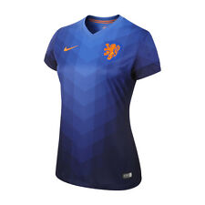 Nike Netherlands Away Women's Original Jersey Holland World Cup-Blue