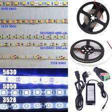 5M 5630 5050 3528 2835 SMD 300Leds Flexible Led Strip Light Waterproof 12V Xmas