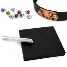 Czech Crystal Snap Rivets, Birthstone Colours, Metal Stamping Riveting Supplies
