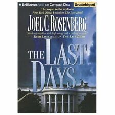 THE LAST DAYS unabridged audio book CD by JOEL ROSENBERG Brand New 12 CDs 13 hrs