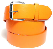BENDER BELT ● Orange Golf Belt - BONDED LEATHER | REMOVEABLE BUCKLE