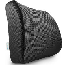 PharMeDoc Lumbar Support Pillow Seat Cushion for Office Chair & Car Seat