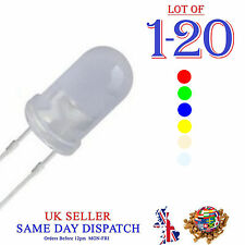 5mm Ultra Bright Milky Diffused LEDs Diode Red Blue Green Yellow