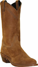 Abilene Boots Mens Brown Cowhide Cowboy Safety Toe USA