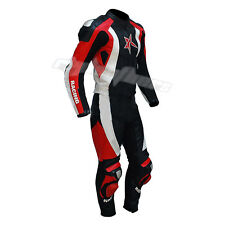 Mens Leather Street Riding One & Two  Piece Motorbike Leather Suit Motorcycle
