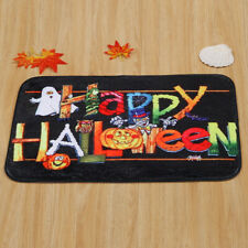 Halloween Welcome Door Mat Shower Carpet Non-Slip Floor Doormat Entrance Rug Mat