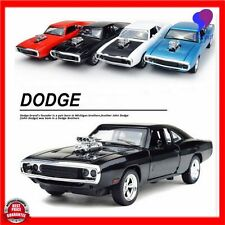 Fast and Furious Model Car Alloy Dodge Charger Pull Back Toy Cars Diecast Kids