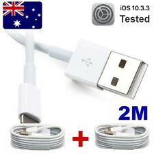 100% 2PCS 2M USB Cable Data Sync Charger for iPod touch 5th Nano 6 iPad mini air