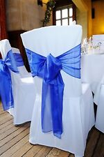 Chair Covers Lycra Spandex White for Wedding, Party, Events to Rent Or Hire