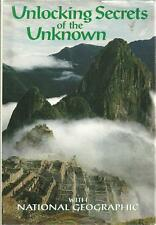 UNLOCKING SECRETS OF THE UNKNOWN W/ NATIONAL GEOGRAPHIC ~ HC/DJ 1993 PHOTOGRAPHS