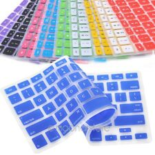 New Silicone Keyboard Cover Skin for Apple Macbook Pro MAC 13 15 17 Air 13 US