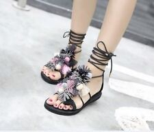 Orange And Black Color Summer New Fashion Stylish Sandal For Women