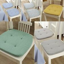 New Dining Garden Patio Chair Seat Pad Tie On Soft Cushion Room Home Decor