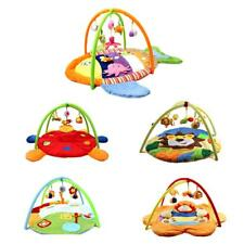 Musical Kids Baby Animals Playmat Tummy Time Activity Gym Floor Pad Mat