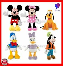 LARGE 45CM CUTE DISNEY MICKEY MINNIE AND FRIEND  PLUSH DOLL KIDS BABY SOFT TOY