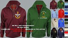 UNITS I TO N EMBROIDERED REGIMENTAL ARMY ROYAL NAVY RAF HARRINGTON MOD JACKET