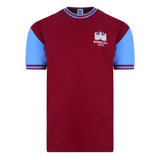 Official Retro West Ham United 1975 FA Cup Final No4 Retro Shirt 100% COTTON