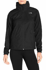 The North Face Resolve Plus Hooded Waterproof Black Jacket Sizes S, L NWT