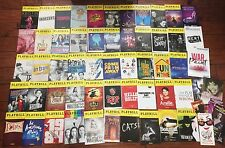 Lot of 63 Current Playbills and Flyers from Broadway and Tours Hello Dolly!