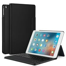 Detachable Wireless Bluetooth Keyboard Leather Stand Case for iPad 9.7 (2017)